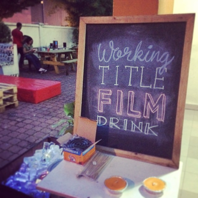 Working Title Film Drinks June 2014. Hosted by Think Tank.