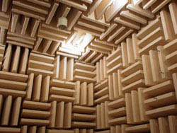 Some heavy-duty acoustic treatment that will prevent most sound from leaving your rehearsal space.