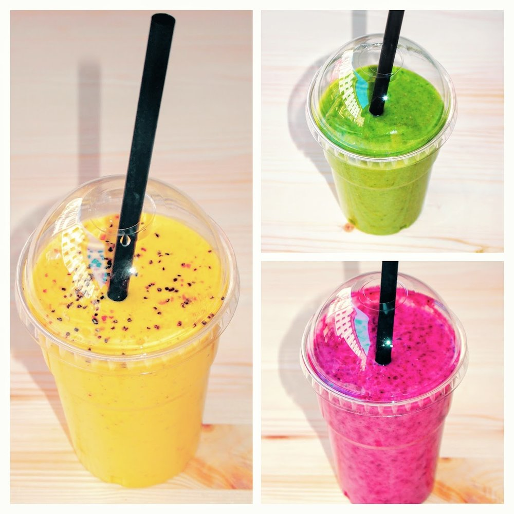 OUR CLASSIC SMOOTHIES  4.9€ / 300ml