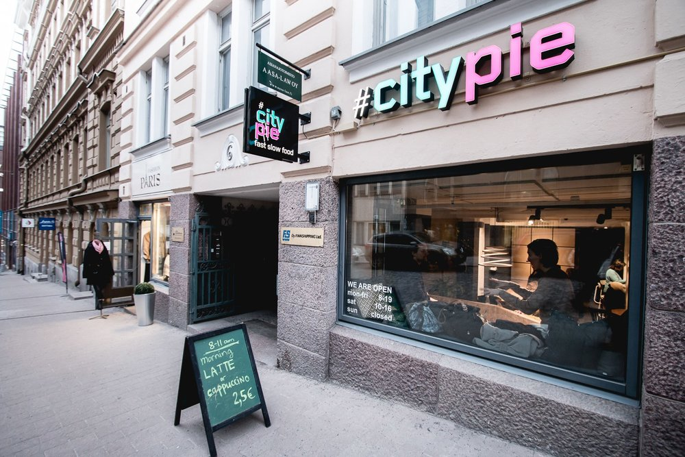 #CITYPIE - TRENDIKÄS LOUNASPAIKKA 13.2.2017; Author: Roosa Mononen Photo: Roosa Mononen