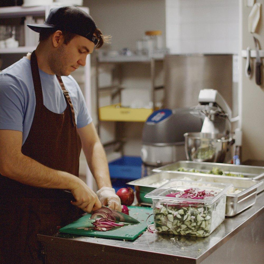 kokki yritys keittiö työ