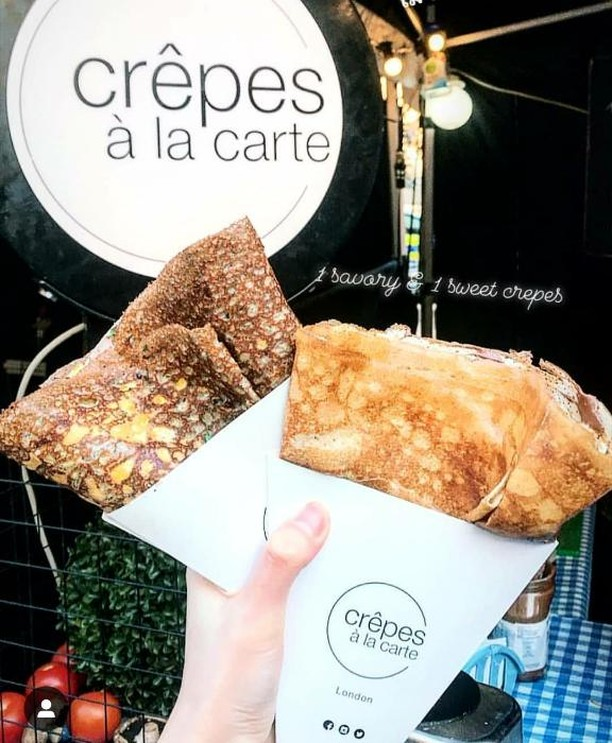 Sweet and savoury crêpes and galettes, packed with fillings and flavour! @crepesalacartelondon ⠀ ⠀ #victoriaparkmarket #victoriapark #londonmarkets #eastlondon #crepes #streetfood