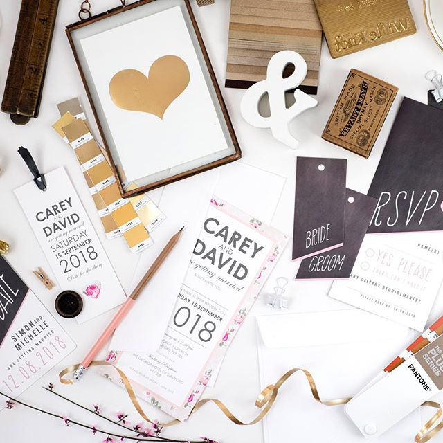 Happy Monday! We have a busy few days of making up orders and several trips to the post office ( we need longer arms to carry the table plan and welcome signs), so not much time for 2019 new design ideas this week. We will store up the creativity until next week! . . . #wedding #weddingstationery #bride #groom #weddinginvitation #savethedate #wedmin #smallbusiness #weddingdesign
