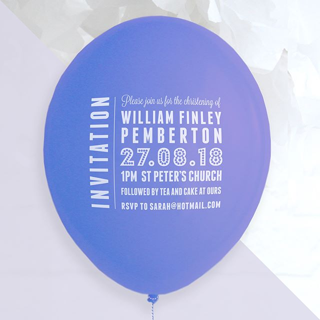 All of our balloon save the dates are tied by hand to ensure they are finished beautifully before being sent to customers. But don't forget we do a whole range of balloon invitations suitable for any occasion. . . . #balloon #savethedate #weddings #weddinginvitation #birthday #birthdayinvitation #christening #christeninginvitation #partyinvitations #bride #groom #babyshower