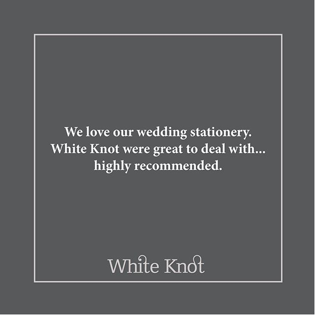 Some lovely feedback to kick start our week! . . . #wedding #stationery #weddinginvitation #savethedate #bride #groom #wedmin #weddingstationery #customerappreciation