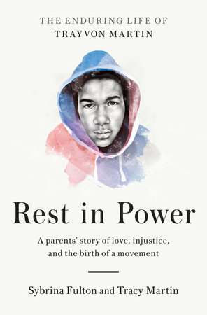 """""""Trayvon came out screaming. After they cleaned him off and wrapped him in a blanket, the nurse laid him on my chest and I thanked God for this miracle, this ultimate blessing. I could feel his heart beating so fast, right alongside mine, so close that it made me cry. Then and there, I made a promise: to do my best for this child, as a mother, an example, a counselor, and a friend."""""""