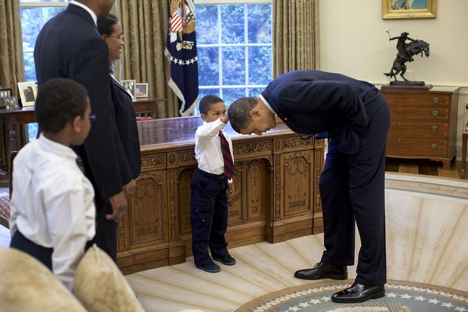 Pete Souza, The White House