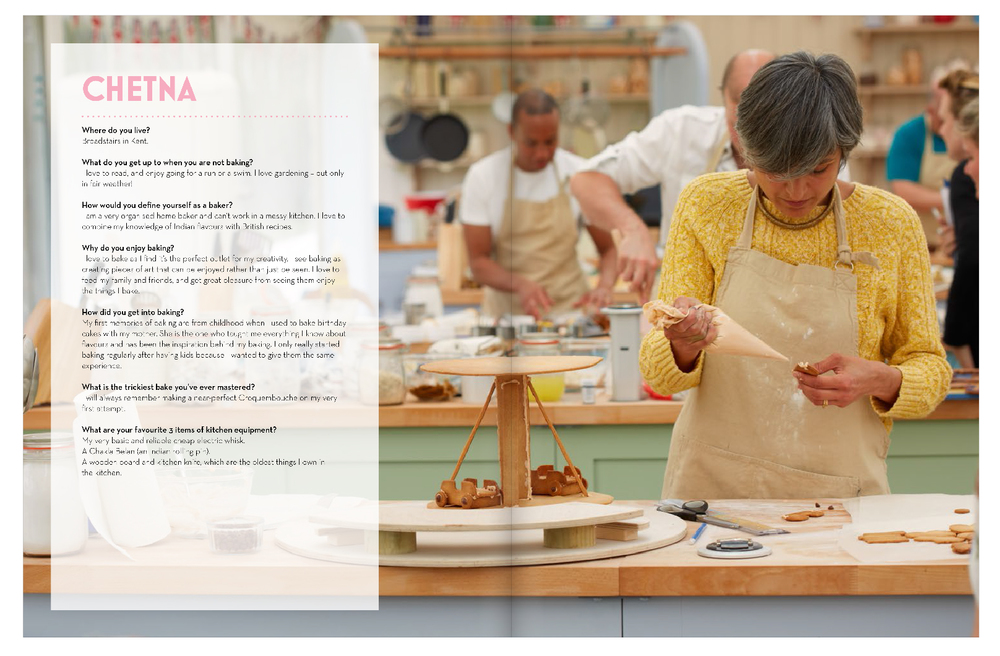 theThe great British Bake off - Big book of baking