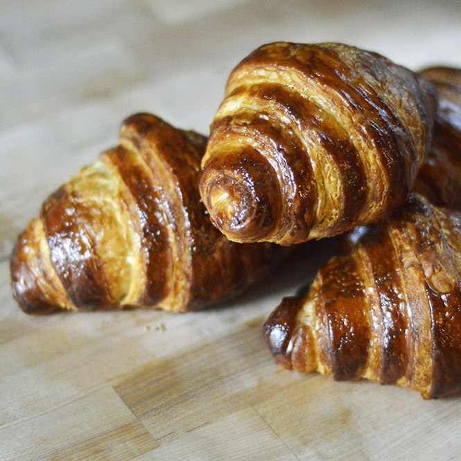Croissants from East Durham Bake Shop