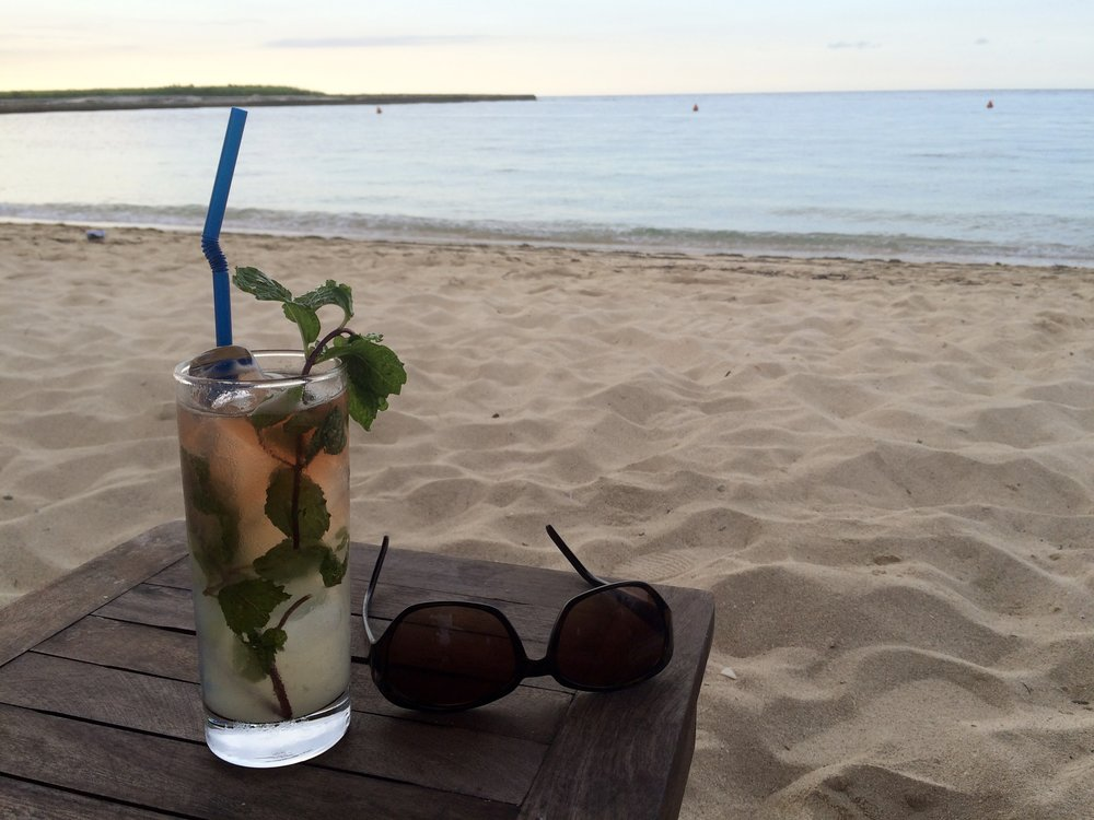 The best mojito: a Havana Club rum mojito at Club Havana, the former Havana Biltmore Yacht Club in western Havana.