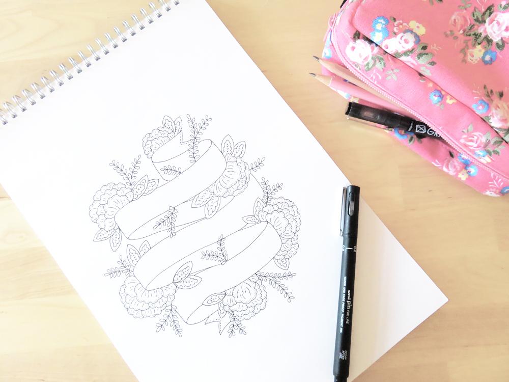 Bea & Bloom Wedding Stationery Sketchbook