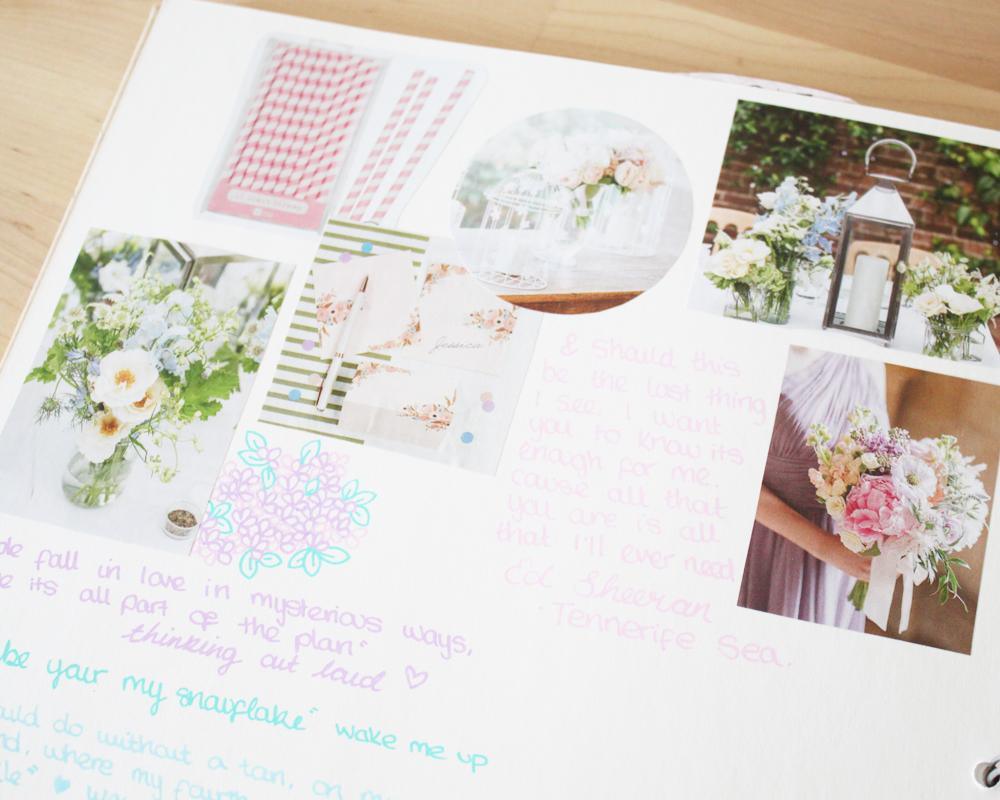 Bea & Bloom Wedding Scrapbook
