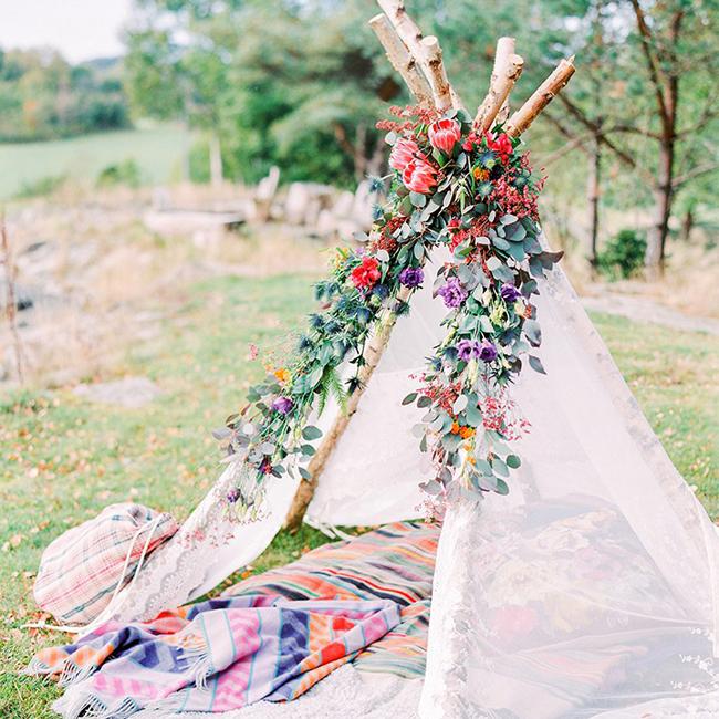 Boho Weddings Festival Inspired Swedish Wedding Shoot