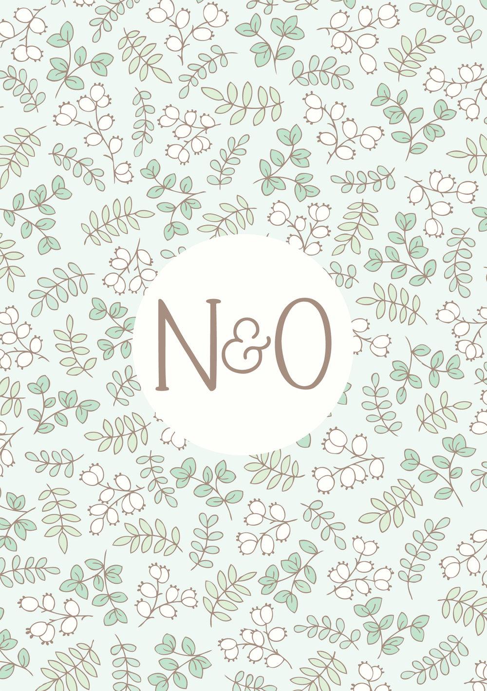 Bea and Bloom Illustrated Wedding Stationery Botanical