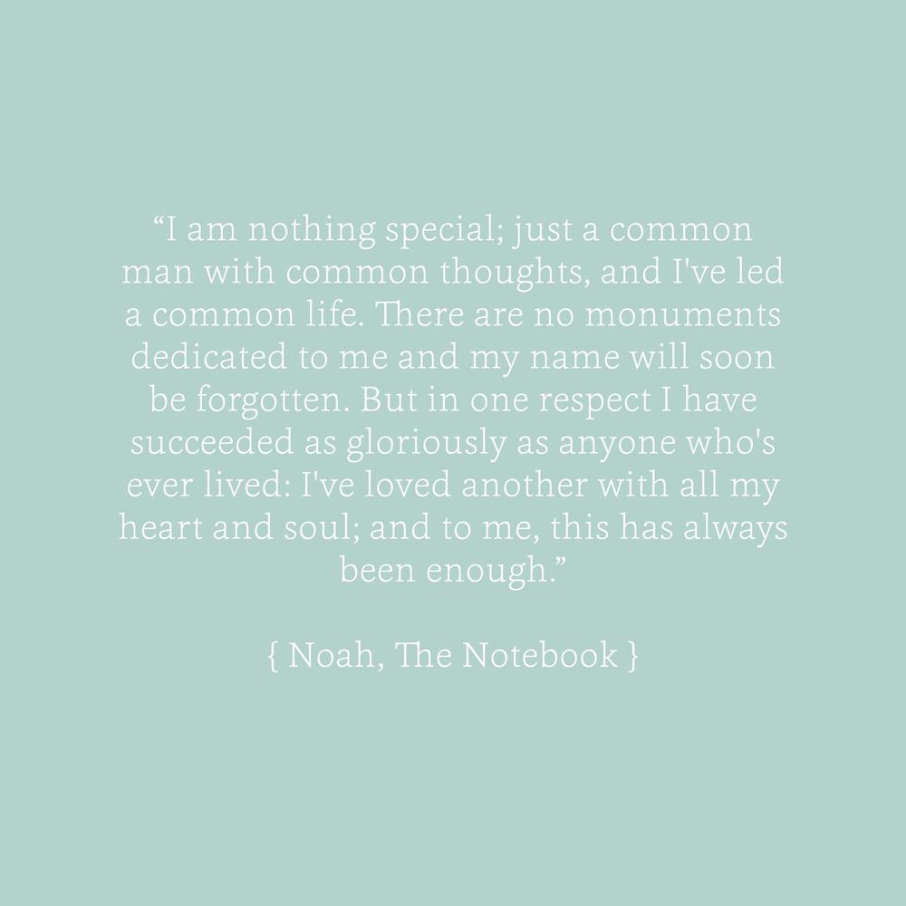 The Notebook Quotes Bea & Bloom Creative Design Studio