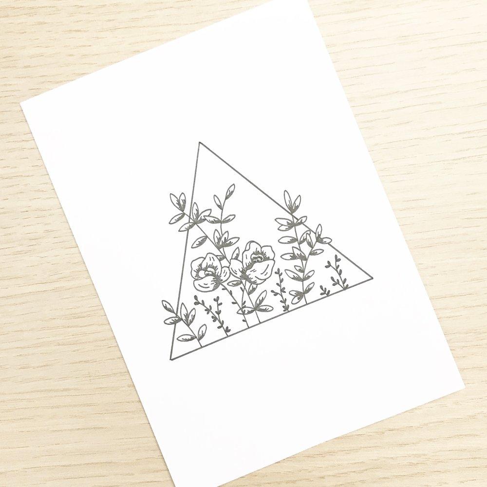 #the100dayproject sketchbook drawing Bea & Bloom Creative Design Studio