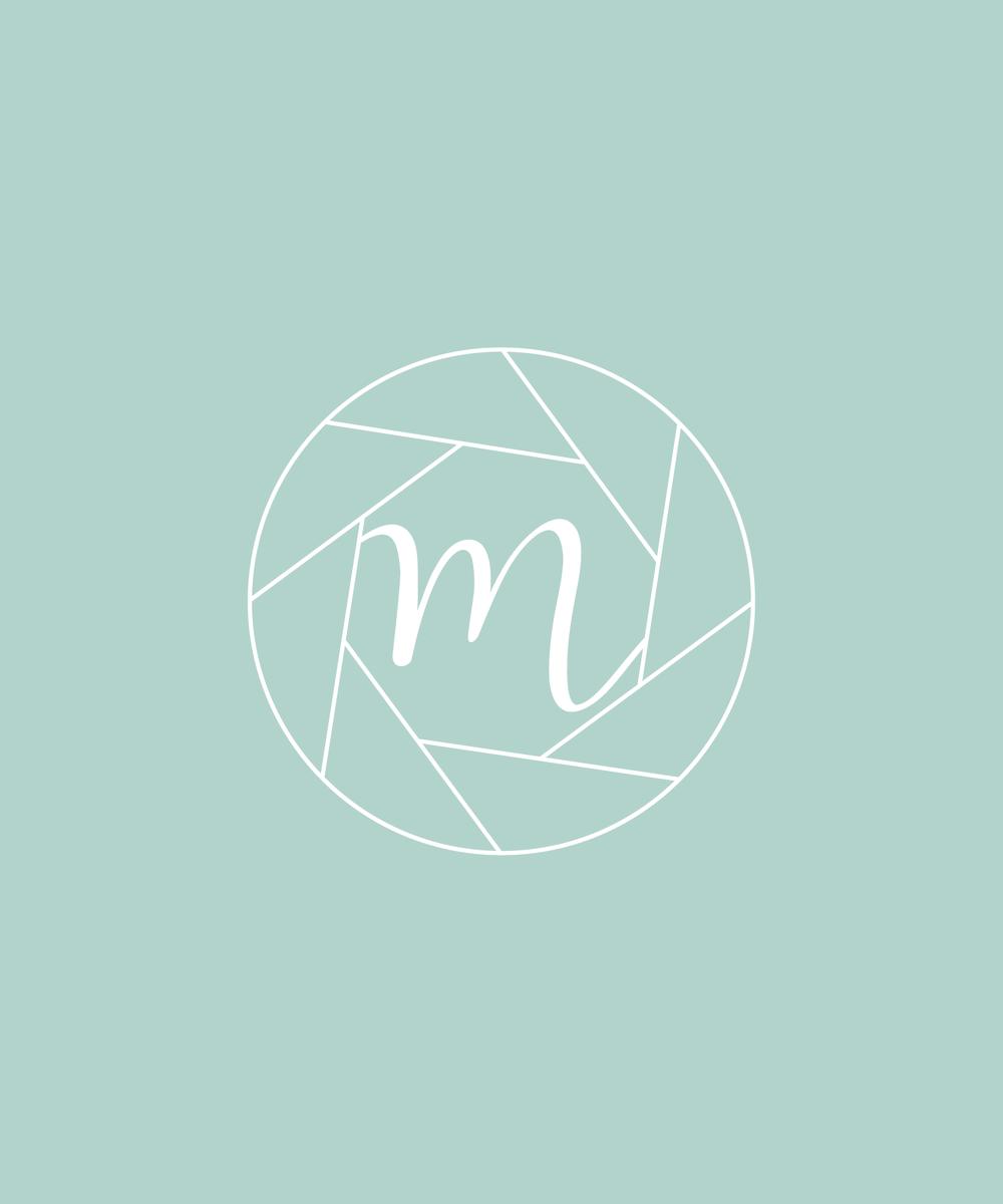 Moments Photo Studio Logo & Branding by Bea & Bloom Creative Design Studio
