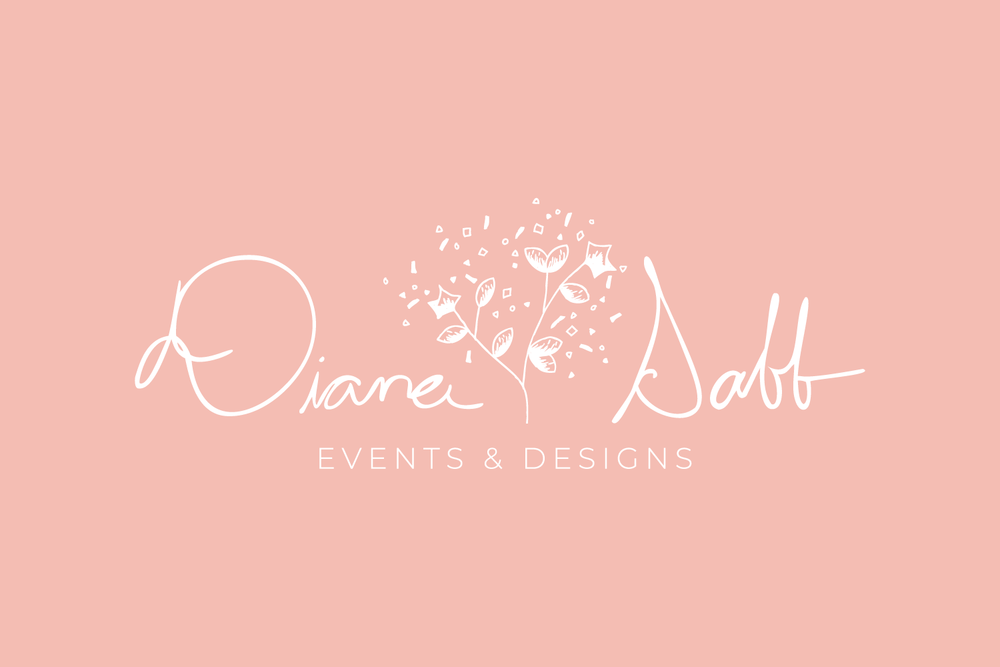 Diana Sabb Logo & Branding design for small businesses by Bea & Bloom Creative Design Studio