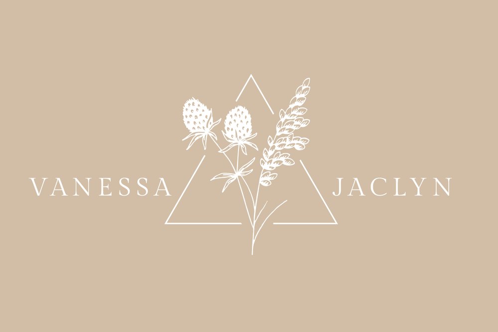 Vanessa Jaclyn Photography Logo & Branding design for small businesses by Bea & Bloom Creative Design Studio