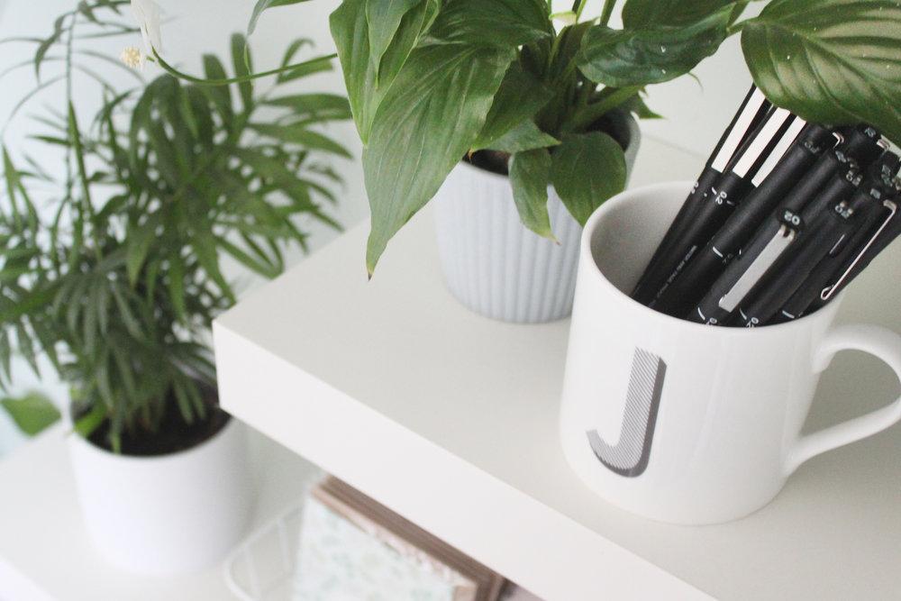 Bea & Bloom Creative Design Studio Home Office Decor Inspiration