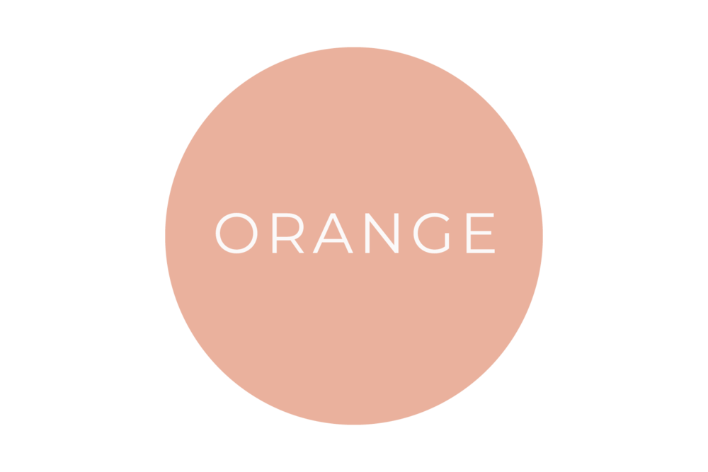 Orange - The Language of Colours - Bea & Bloom Creative Design Studio