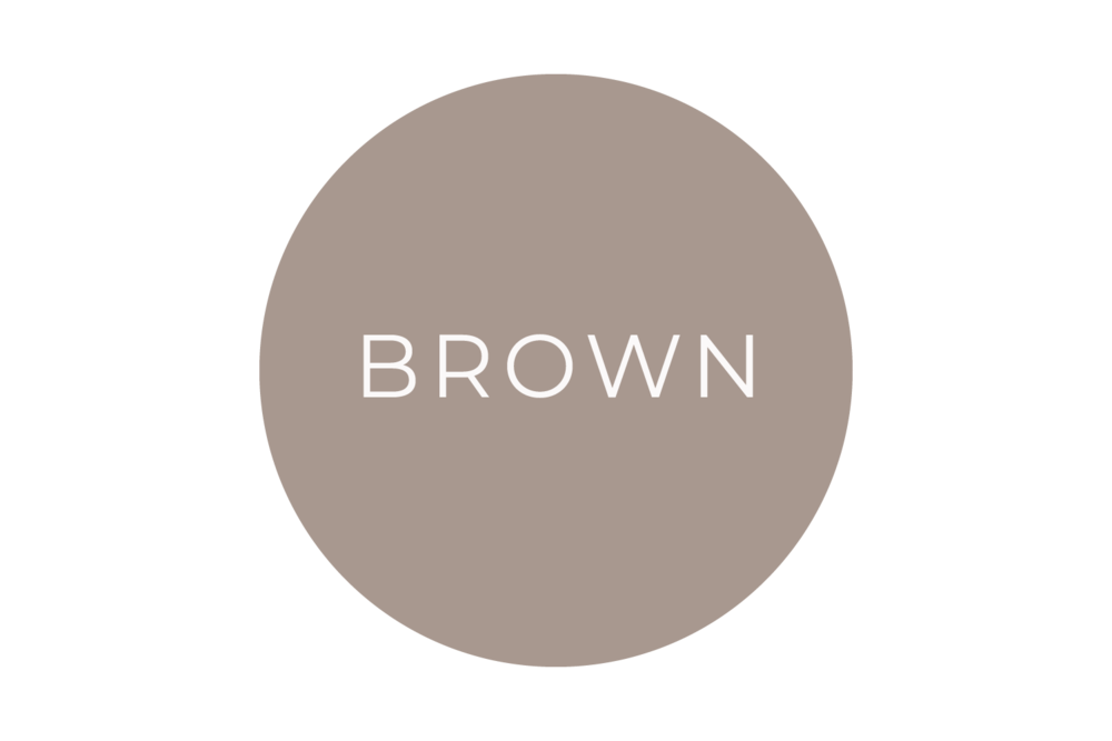 Brown  - The Language of Colours - Bea & Bloom Creative Design Studio