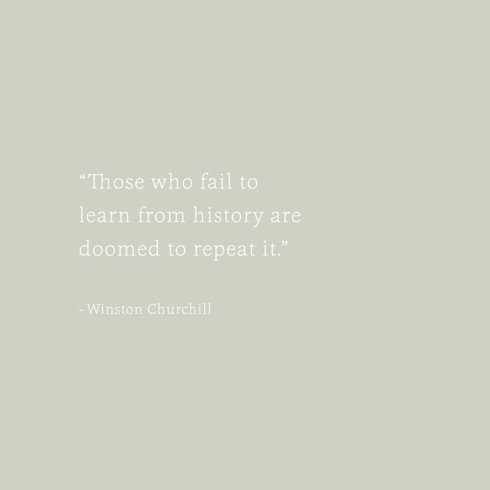 Winston Churchill Quote - Bea & Bloom Creative Design Studio