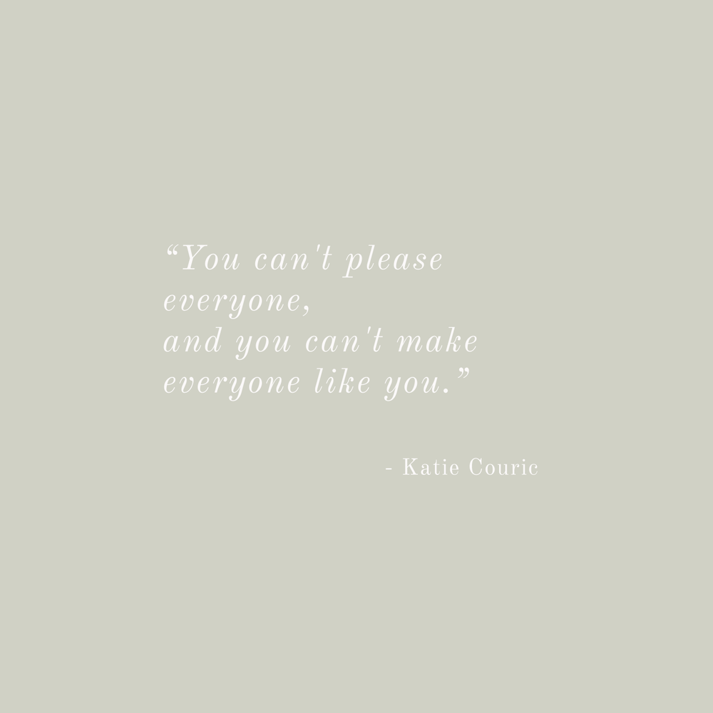Katie Couric Quote - Inspirational Quotes from Strong Women - Bea & Bloom Creative Design Studio