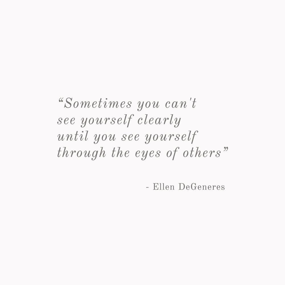 Ellen DeGeneres Quote - Inspirational Quotes from Strong Women - Bea & Bloom Creative Design Studio