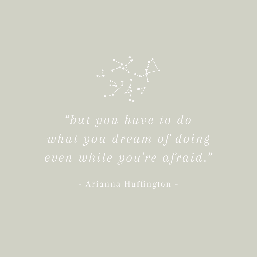 Arianna Huffington Quote - Inspirational Quotes from Strong Women - Bea & Bloom Creative Design Studio