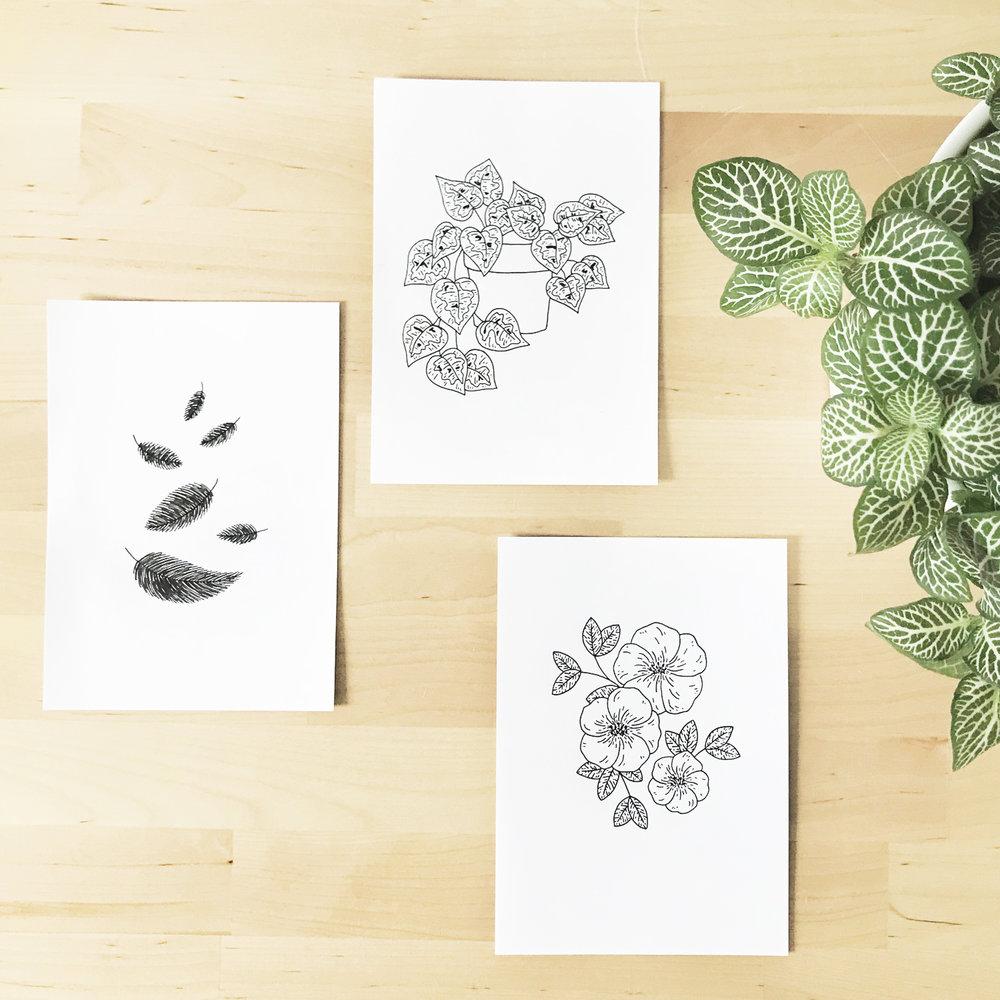 #the100dayproject Sketchbook Illustration - Bea & Bloom Creative Design Studio