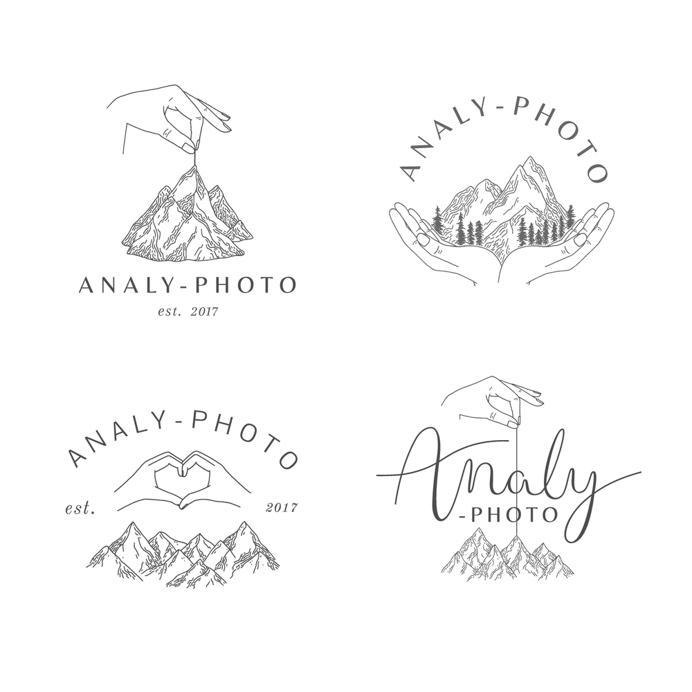 Analy-Photo Logo & Branding design - Bea & Bloom Creative Design Studio