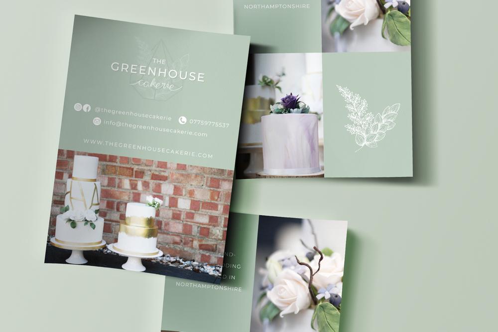 The Greenhouse Cakerie - Bea & Bloom Creative Design Studio
