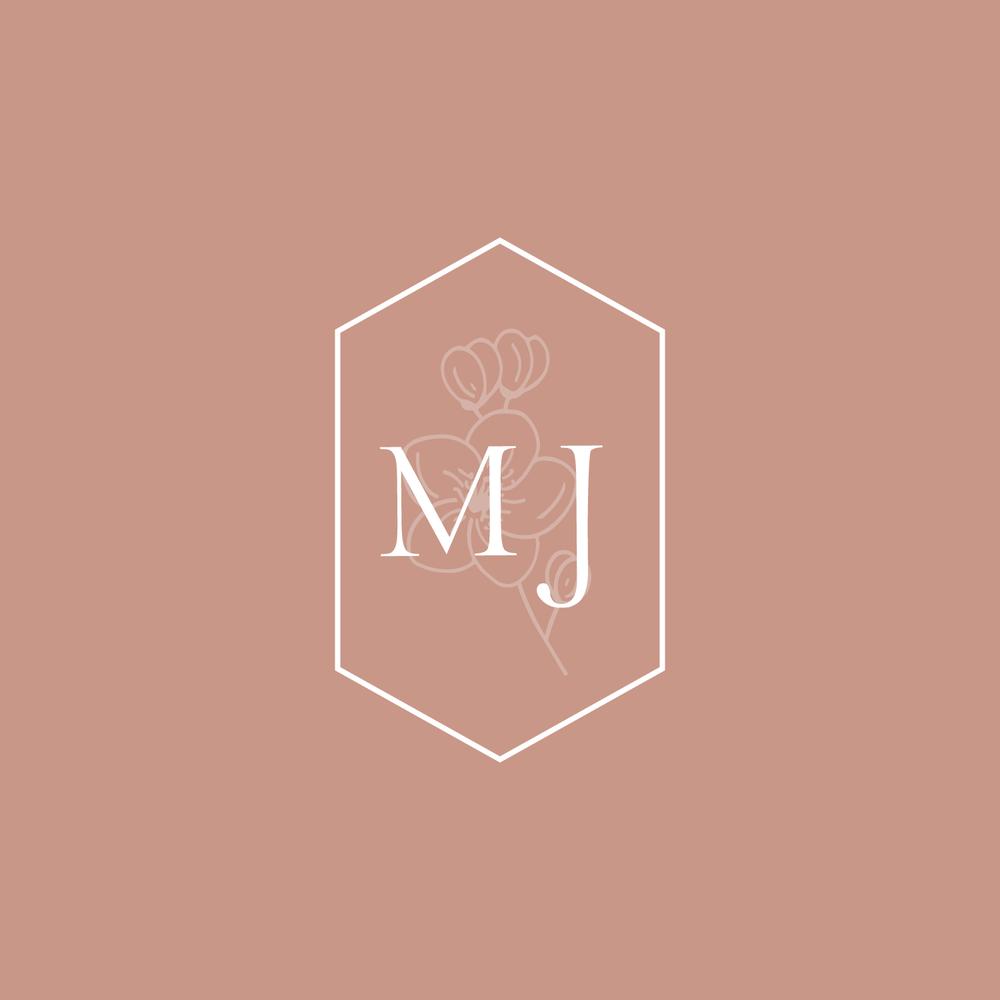 Bea & Bloom Creative Design Studio - Logo Design for M J Mendoza Photography