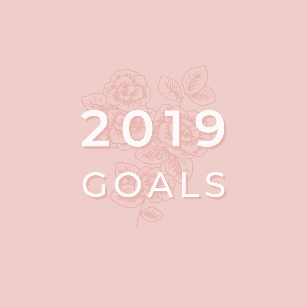 Bea & Bloom Creative Design Studio - 2019 Goals