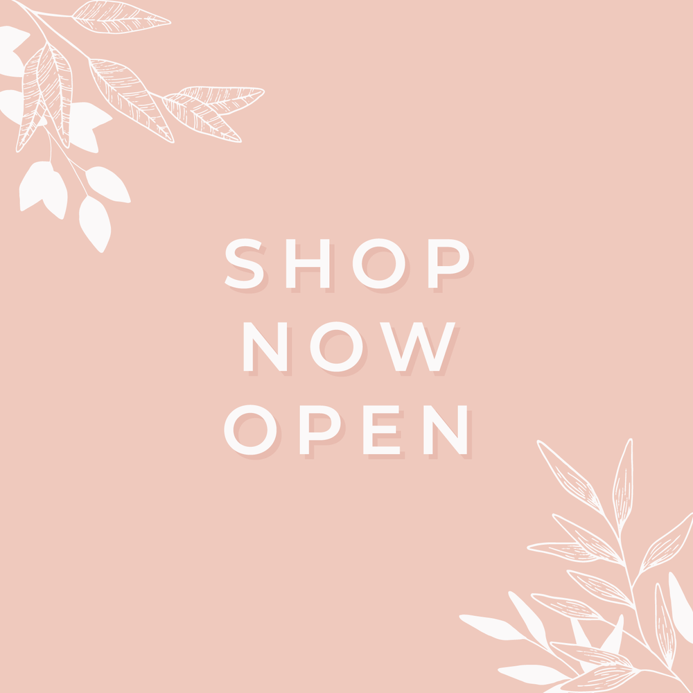Creative Market SHop Now Open - Bea & Bloom Creative Design Studio