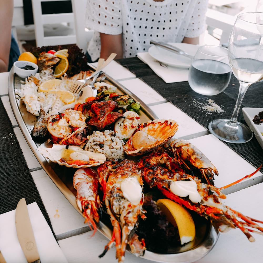 Seafood platter!
