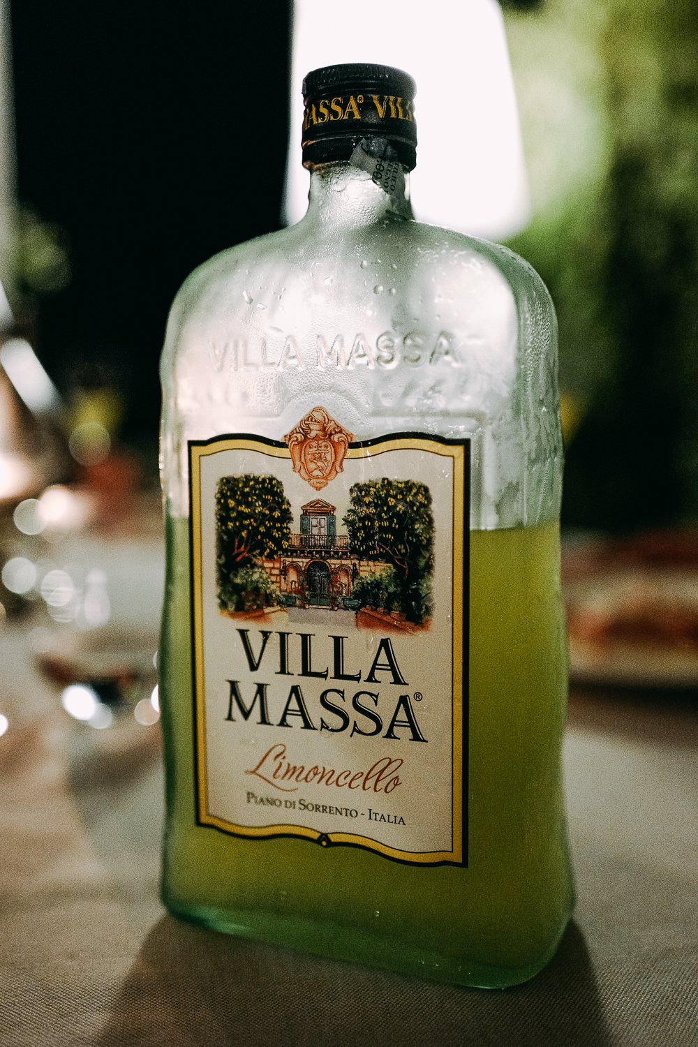 Limoncello is a Sorrento specialty.