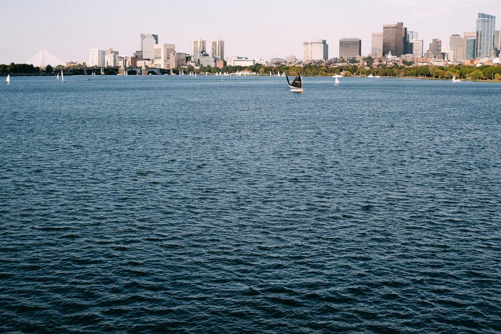 Charles River Esplanade.