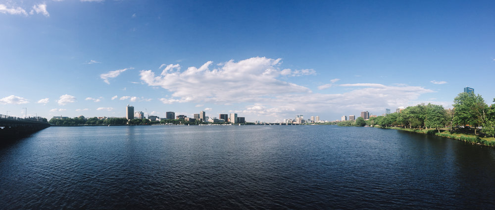 Charles River. Saying goodbye to this view on my last day in Boston :')