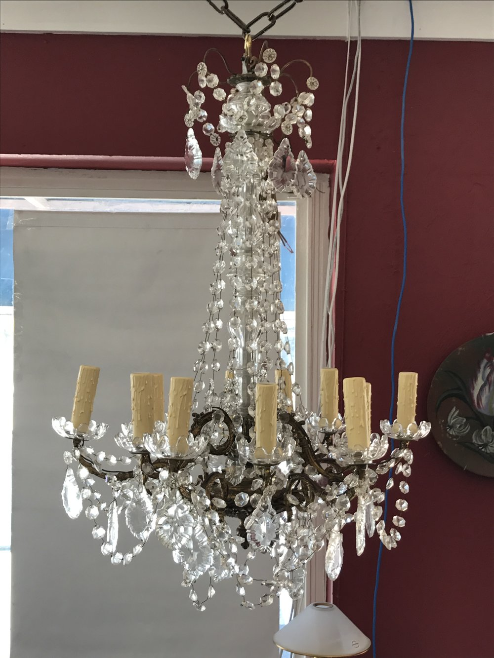 We also have the largest inventory of lamp shades in southwest florida commonly we work on incandescent table and floor lamps chandeliers of all