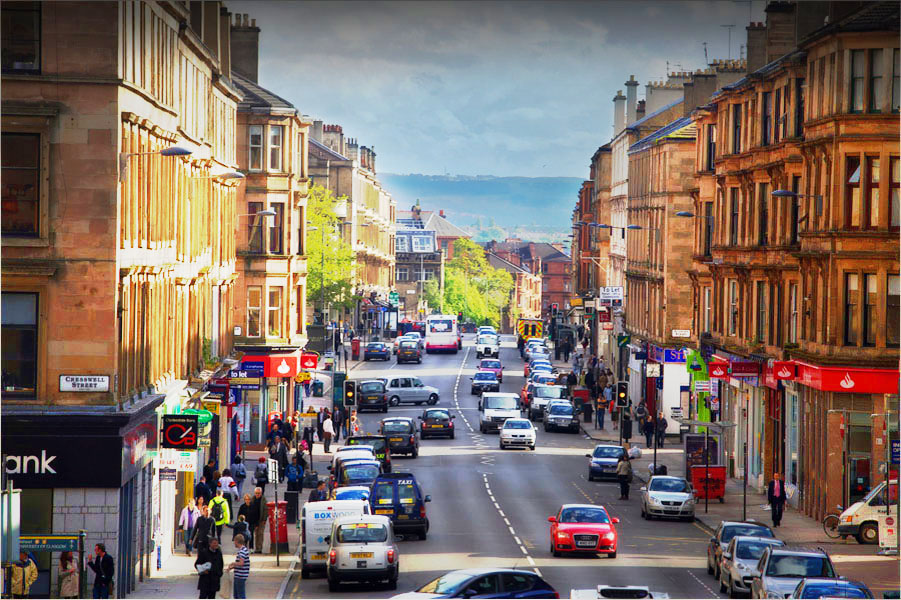 Byres Road is the heart of the West End