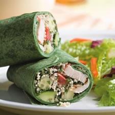 Mediterranean Wrap (click for recipe)