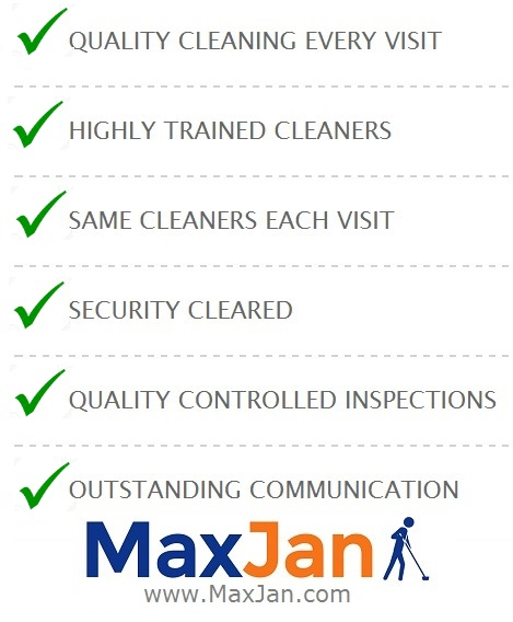 Commercial Cleaning Services — Maxjan