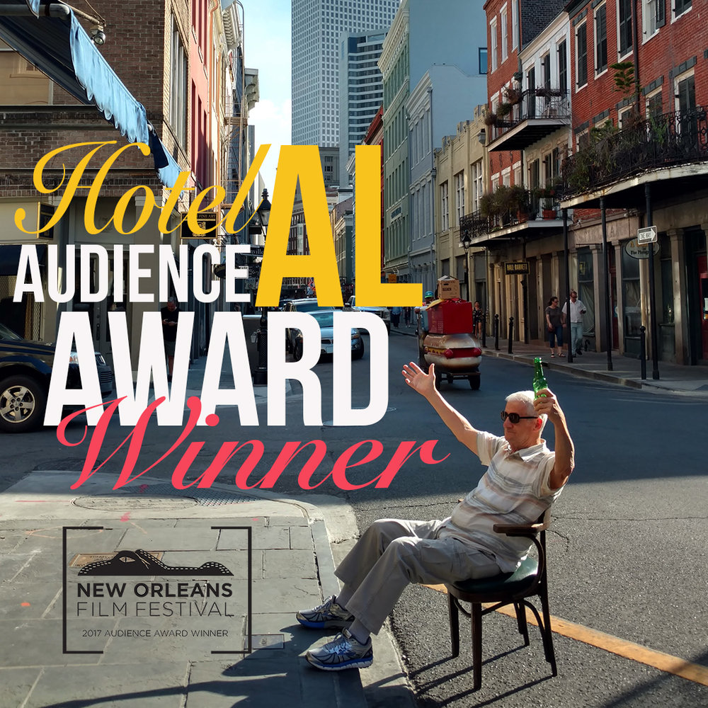 Audience Award Winner for Best Louisiana Short -          New Orleans Film Festival 2017