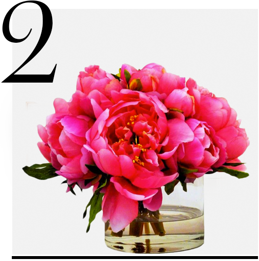 The-French-Bee-Pink Peonies in Cylinder-home-improvement-ideas-10-hot-pink-room-accessories