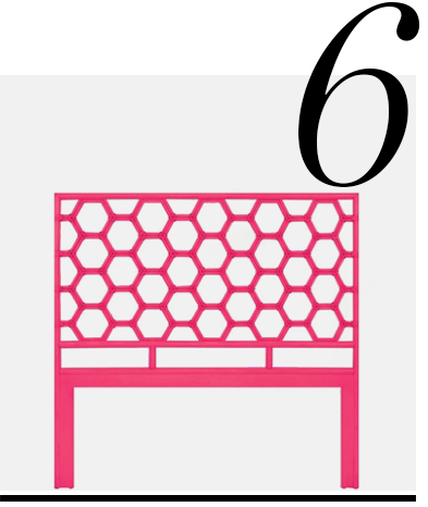 Honeycomb-Headboard-in-Hibiscus-Pink-David-Francis-home-improvement-ideas-10-hot-pink-home-accessories