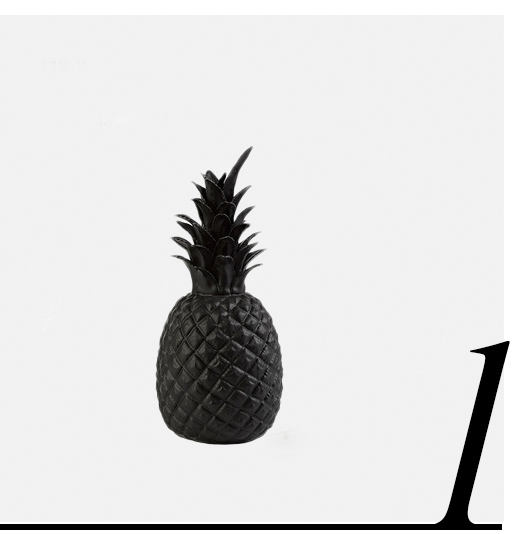 Matt-Black-Pineapple-Pols-Potten-home-improvement-black-home-decor-accessories-ideas