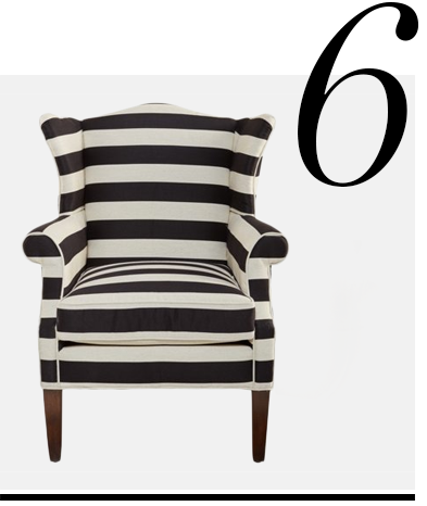 Bradford-Wingback-Chair-Black-Stripe-Michael-Thomas-Collection-home-improvement-black-home-decor-accessories-ideas