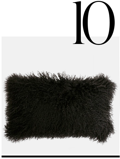 New-Zealand-Sheepskin-Cushion-Natures-Collection-home-improvement-black-home-decor-accessories-ideas